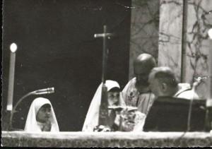 Padre Pio con Grazia Carbotti e la sorella