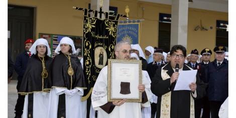 Arrivo della reliquia di San Pio da Pietrelcina