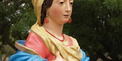 La Madre Celeste che si venera a Pietrelcina