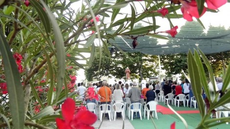 Raviscanina manifestazione - RAVISCANINA: L'assemblea presente all'evento