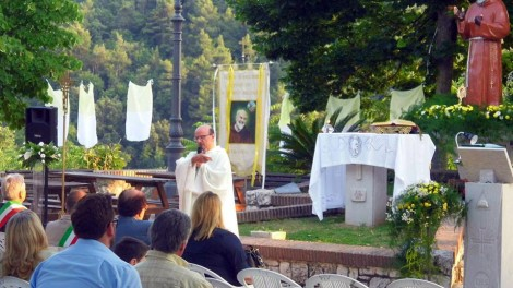 Raviscanina omelia di Padre Antonio - RAVISCANINA: Santa Messa officiata dal Cappuccino Padre Antonio Pompilio