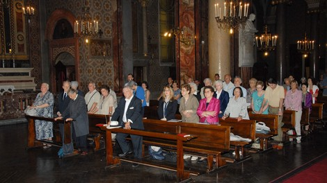 Torino interno chiesa