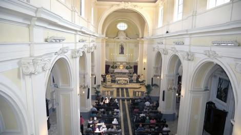Sabbarese chiesa interno