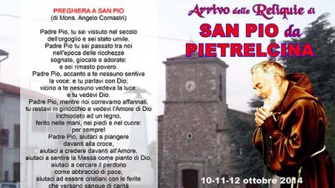Pieghevole Trevico - Manifesto dell'evento