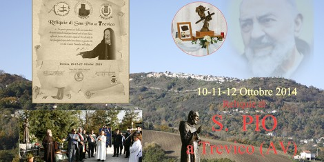 Trevico omaggia Padre Pio