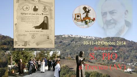 Trevico copertina - Trevico omaggia Padre Pio