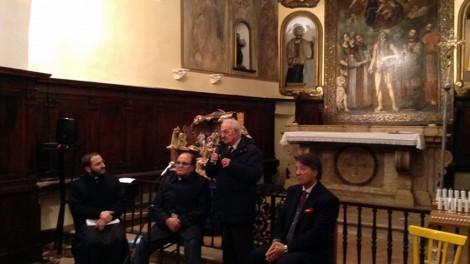 Convegno: Mario D'Antino, presidente emerito della Cassazione, con Don Nicola Gagliarde, Gianni Mozzillo, Gianni Pimpinella