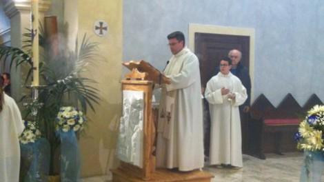 San tommaso12 - Il parroco don Domenico Angelo Napolitano