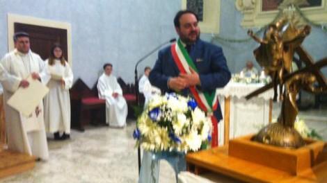 San tommaso15 - Il sindaco di Sant'Agata de' Goti, Carmine Valentino