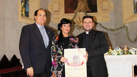 San tommaso4 - La Martemianova con don Mimmo e il direttore Mozzillo