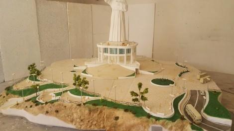 Plastico della statua