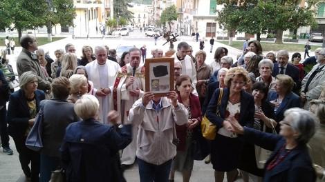6 processione in chiesa