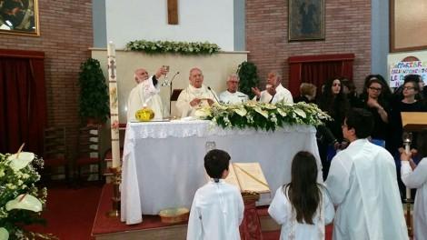 Celebrazione con il vescovo web - Concelebrazione Eucaristica presieduta da S. Ecc. Mons. Michele De Rosa