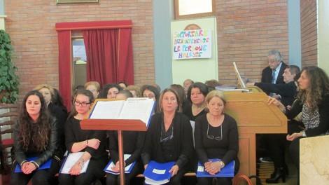 Coro - Il coro che ha animato le celebrazione dell'evento