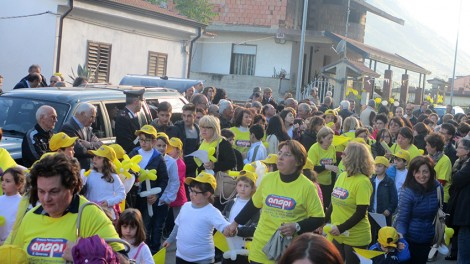 Processione reliquie1 - La processione molto partecipata