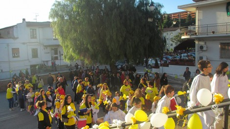 Processione reliquie2 - Arrivo in parrocchia