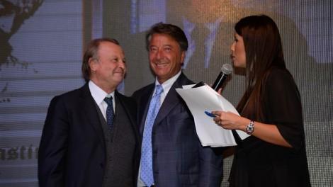 Giornalista Michele Plastino con il priore Giovanni Pimpinella