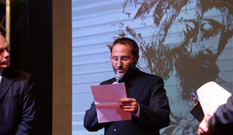Saluto di Don Nicola Gagliarde, presidente comitato premio e associazione Araldi di San Pio