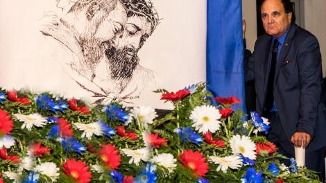 Gianni - Il direttore alla XVII edizione del premio Padre Pio da Pietrelcina