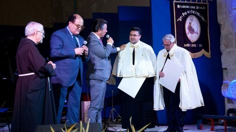 Investitura a guide spirituali degli Araldi per il parroco don Alfonso e don Domenico