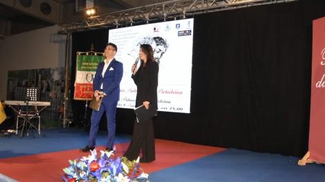 Enzo Costanza e Simona Rolandi - I due presentatori della serata Simona Rolandi e Enzo Costanza