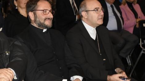 In sala con Don Nicola e l'arcivescovo - In sala con Don Nicola e l'arcivescovo Mons. Felice Acrocca